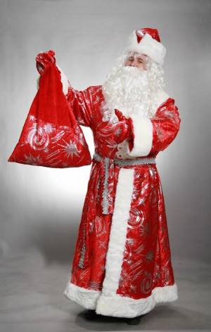 Christmas Santa Claus costume do it yourself