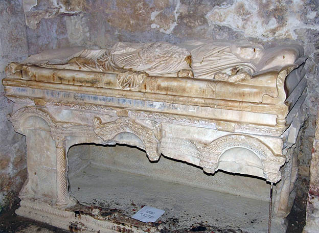 Sarcophagus in the city of Demre