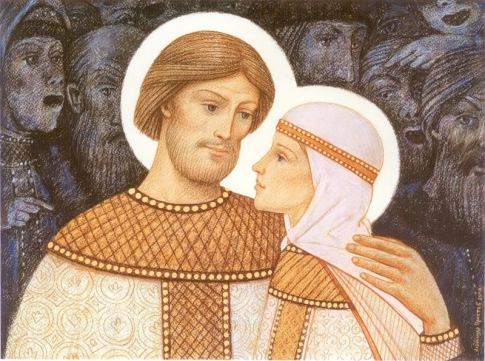 Saints Peter and Fevronia - patrons of marriage