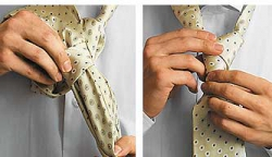 How to tie a tie knot Moskoni-5