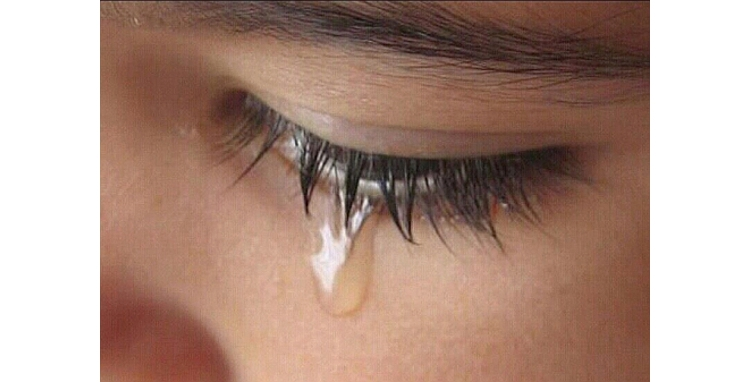 Crying does not benefit the eyes