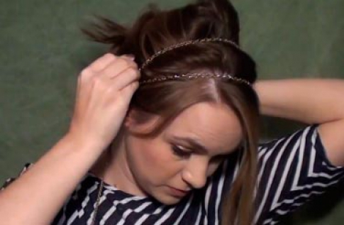 Hairstyle step 2