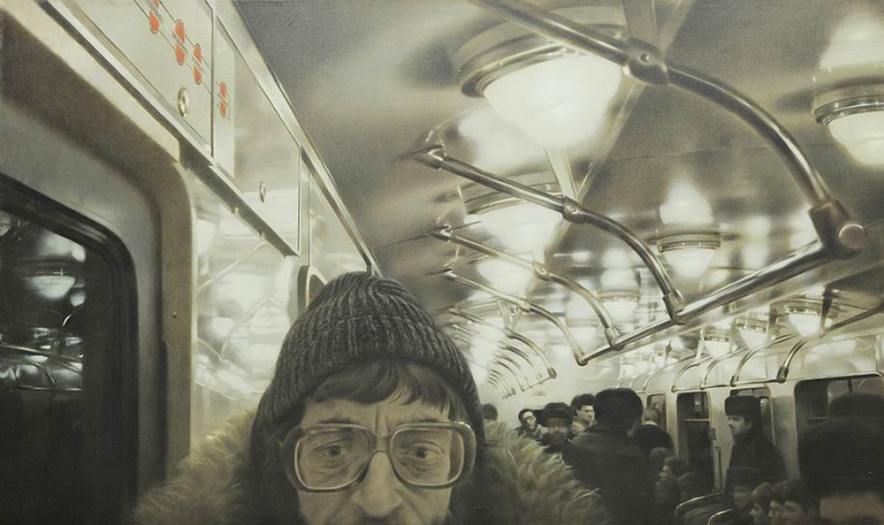 Man in the subway