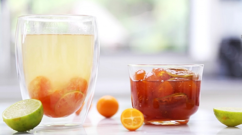 Taiwanese Kumquat Tea