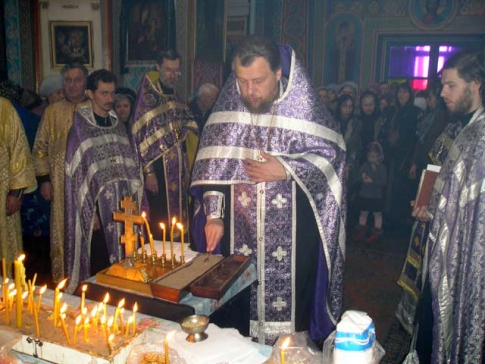 Commemoration in the Great Lent