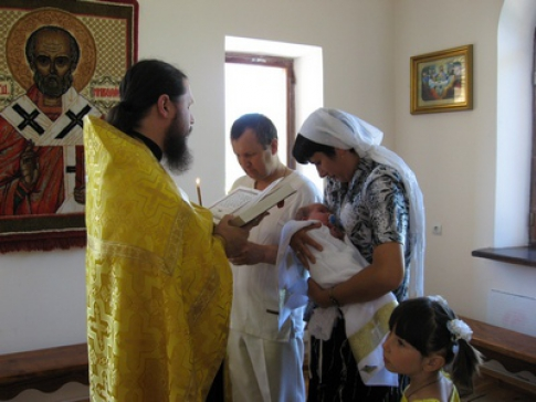 Responsibilities of godparents when baptizing a child