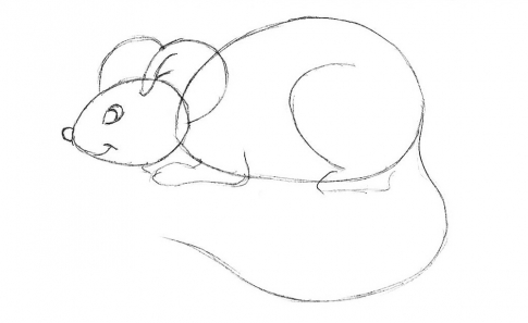 How to draw a mouse_3