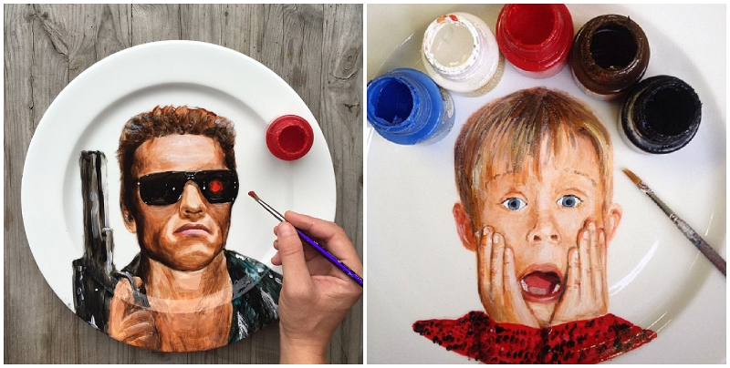 Terminator and Kevin McAllister