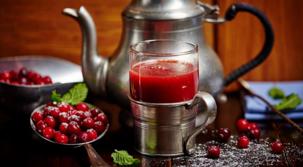 Cranberry and Mint