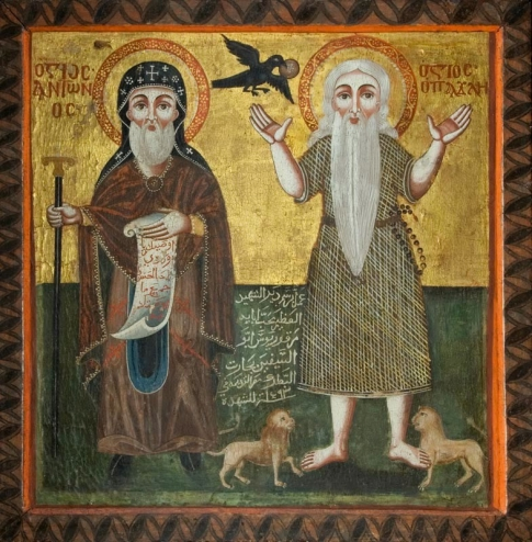Anthony the Great and Paul of Thebes