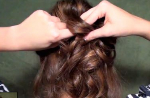 Hairstyle step 6