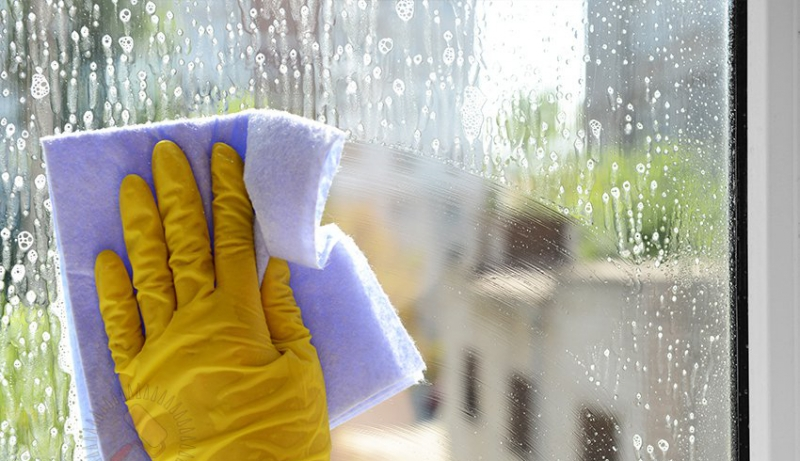 How to wash the windows