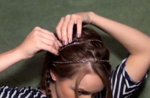 Hairstyle step 4