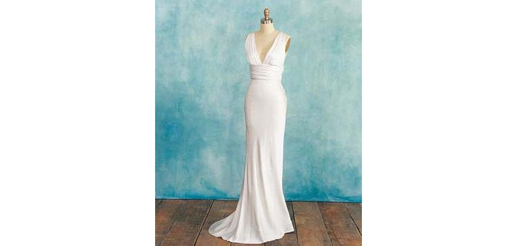 Wedding dress for tall girl