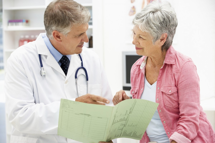 Consultation with a cardiologist
