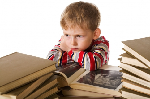 The child does not want to learn