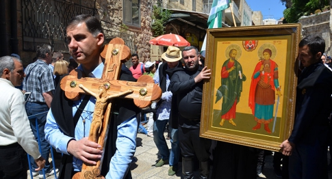 People on the Way of the Cross