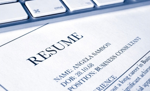Writing a resume in English