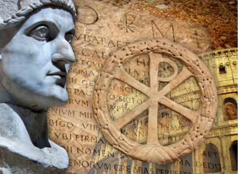Constantine the Great and labarum