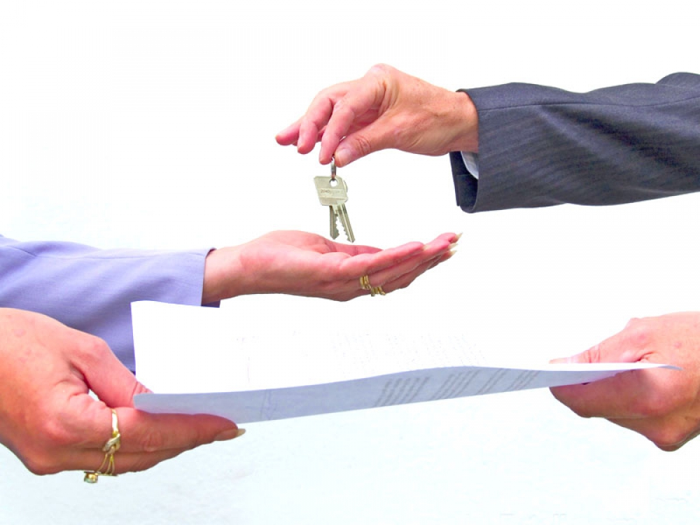 Transfer of documents and keys