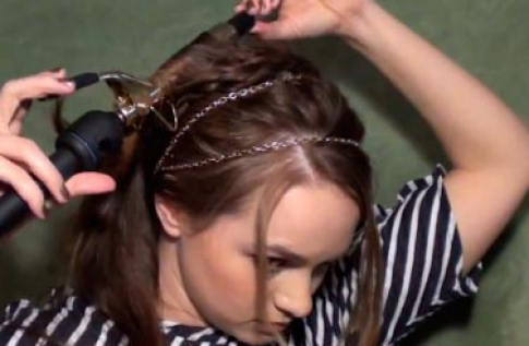Hairstyle step 5