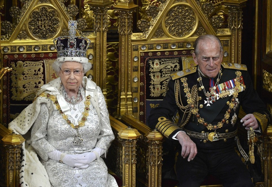Royal couple of Great Britain