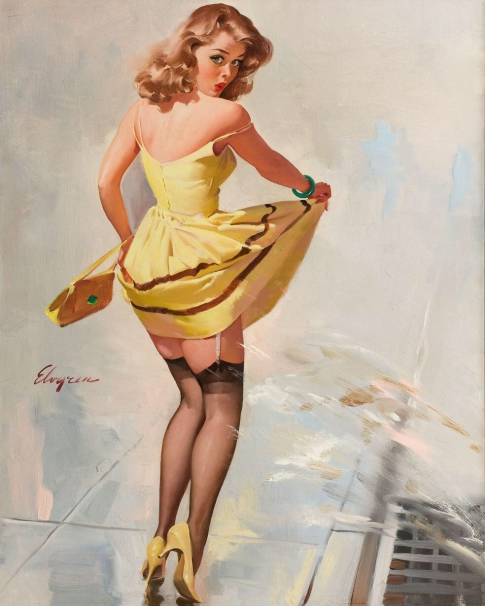 Pin-up picture