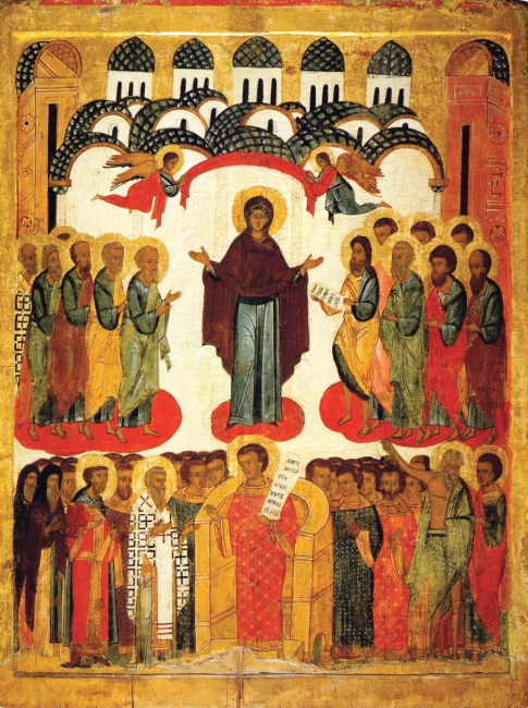 Icon of the Intercession of the Virgin