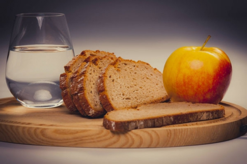 fasting and moderation in food