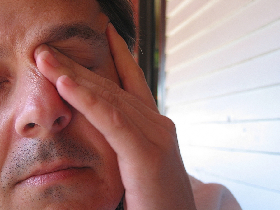 Dirty hands and conjunctivitis