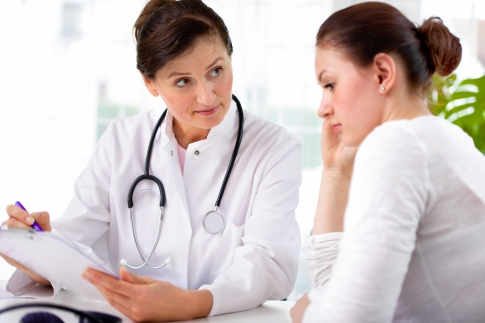 Consultation with a gynecologist