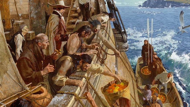 Scurvy in the Middle Ages