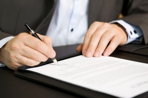 Drawing up power of attorney