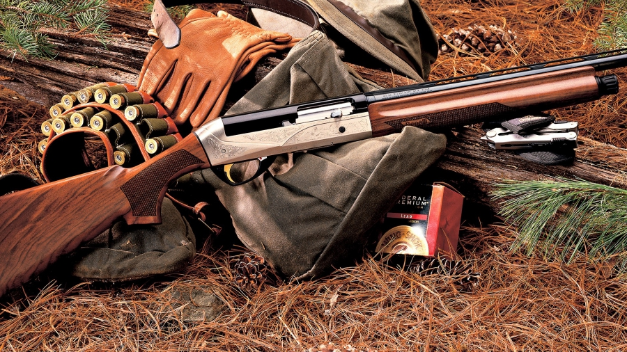Hunting rifle and ammunition
