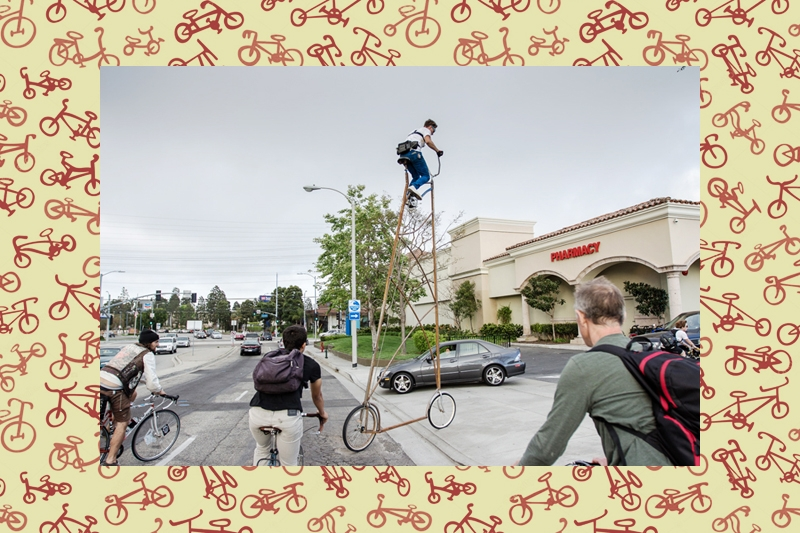 The highest bicycle