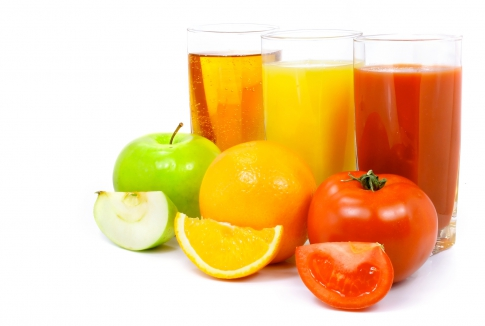 Juices for blood thinning