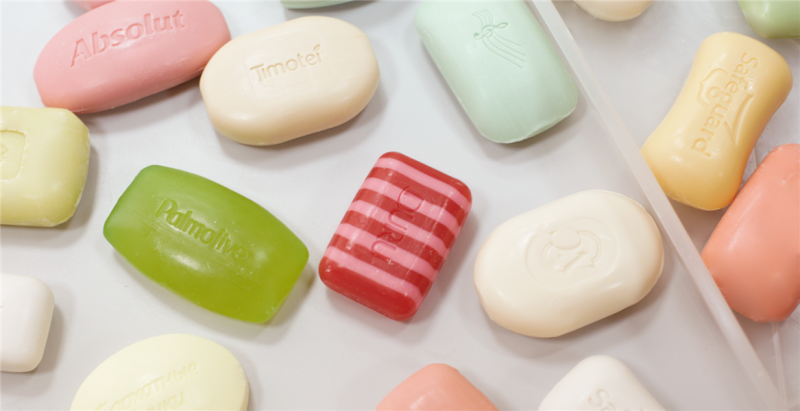 Different types of soap