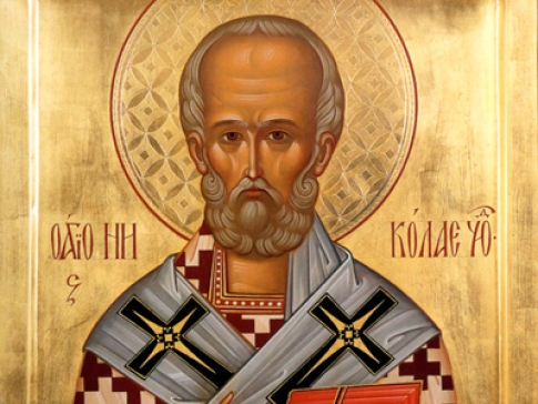 prayer for the work of St. Nicholas