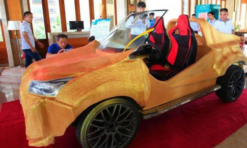 Chinese 3D electric car