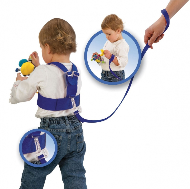 Child on a leash