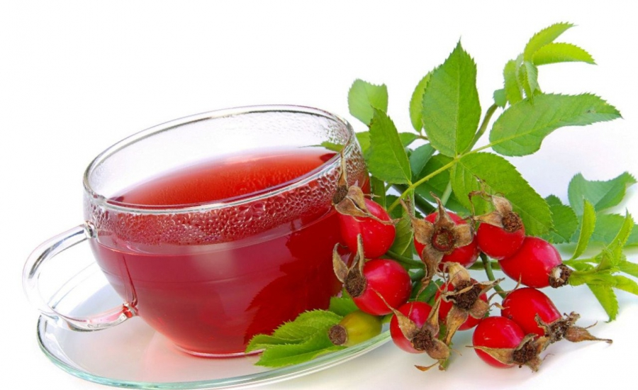 Cup and rosehip