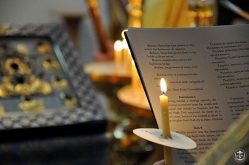 Memorial service for the departed