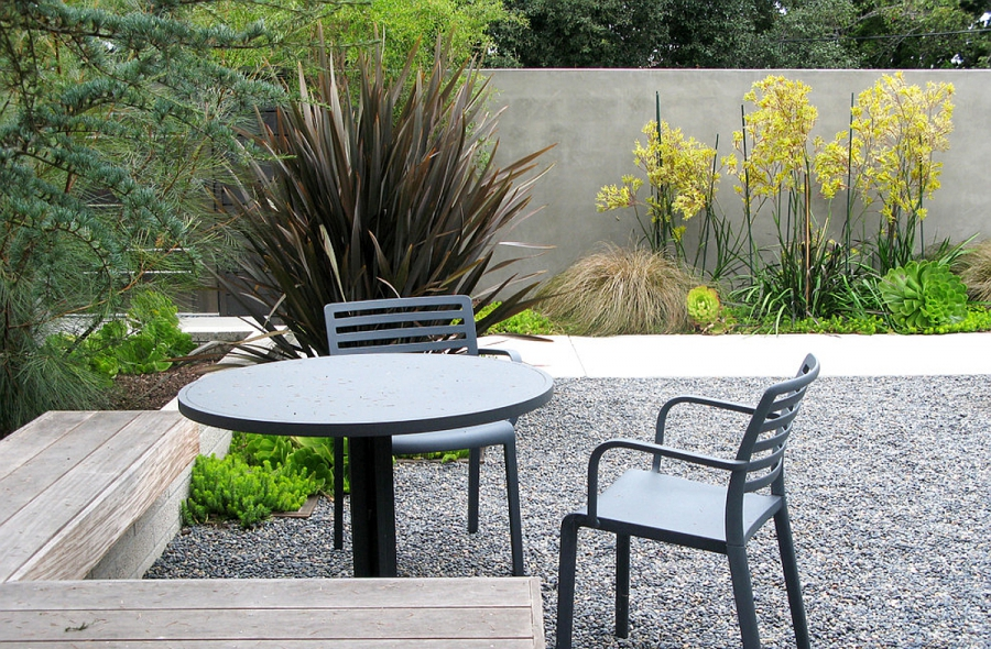 Accents in landscape design