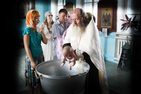 baptism - how to become an Orthodox Christian