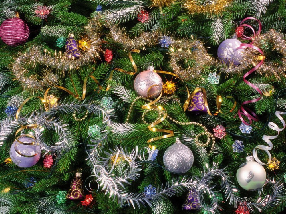 Tinsel and serpentine