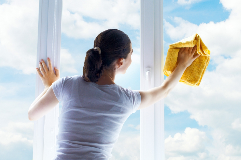 Proper window cleaning