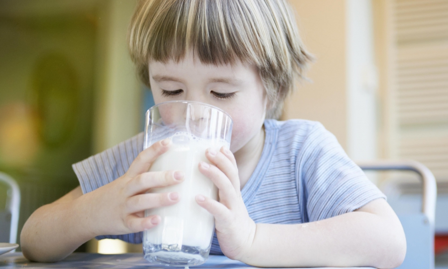Leave milk to babies