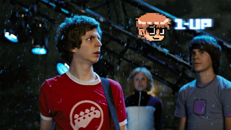 "Frame from the film ""Scott Pilgrim against all"""
