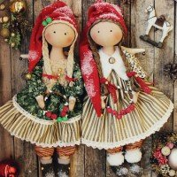 Textile dolls - the most popular handmade toys