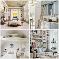 High ceilings - how to make an apartment more functional